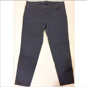 Gap Premium Super Skinny Crop Pants Polka Dot- 14